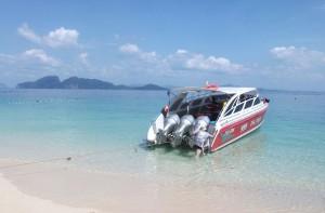 Unser Speedboat