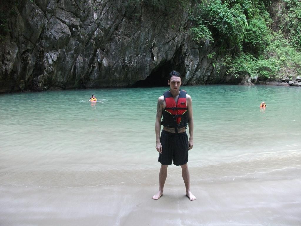 Bucht in der Smaragdhöhle
