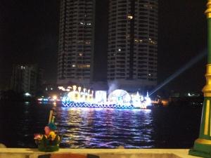 Beleuchtetes Boot