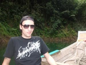 Ablaz auf dem Longtailboot
