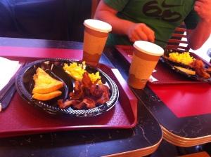 Frühstück american style