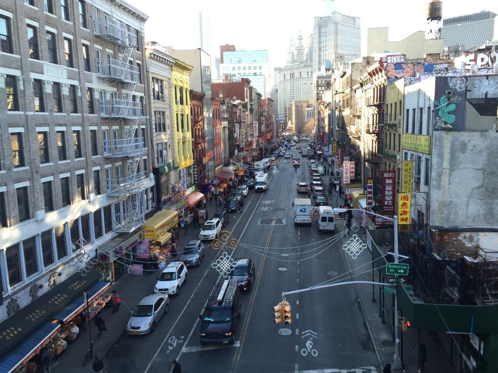 Blick auf Chinatown
