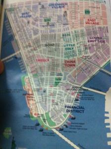 Karte von NY