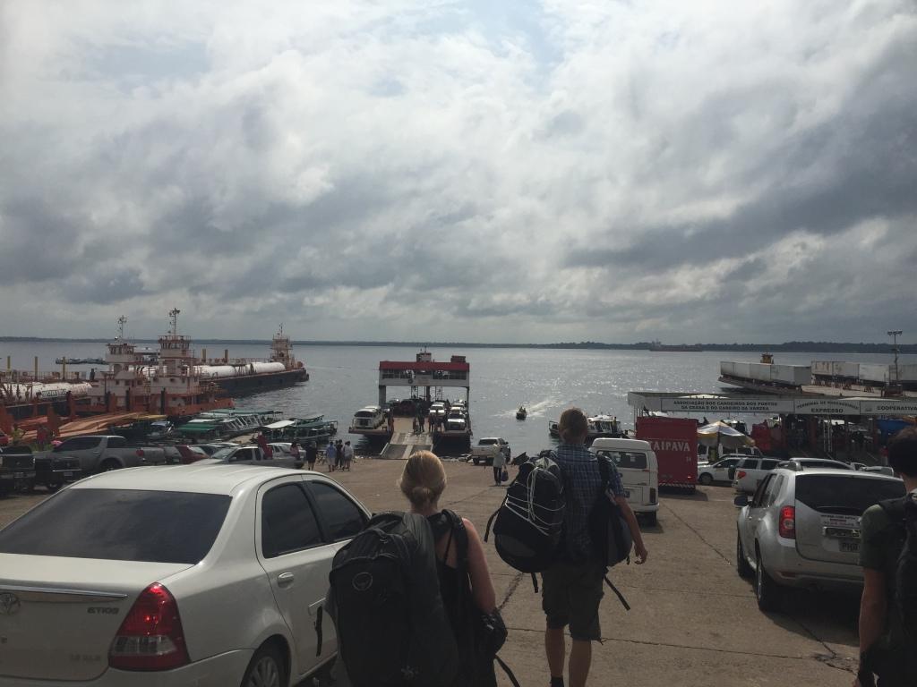 Hafen in Manaus