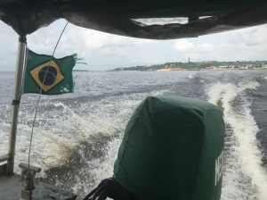Blick vom Speedboot